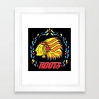Americas Natives  Framed Art Print