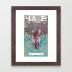 PRA P Framed Art Print