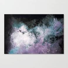 Soaked Chroma Canvas Print