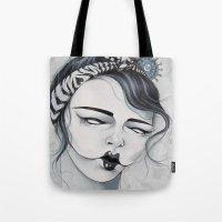 Miss Tigre Tote Bag