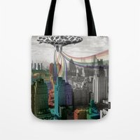Cows For Rainbows Tote Bag