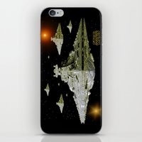 Galactic Battle Cruisers… iPhone & iPod Skin
