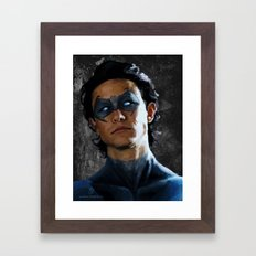 Joseph Gordon Nightwing Framed Art Print