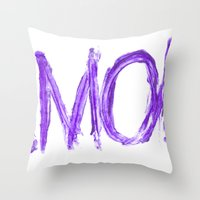 Amok Throw Pillow