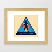 The Legend... Framed Art Print