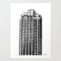 Barbican Art Print