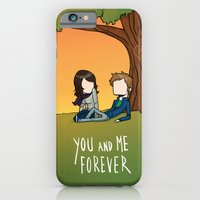 iPhone Cases featuring Boy X Girl X Forever by nate xopher