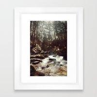 Fairy Falls Framed Art Print