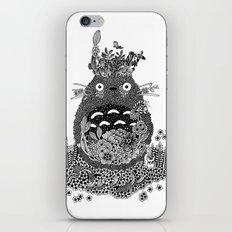 Tonari Black and White Doodle Art iPhone & iPod Skin