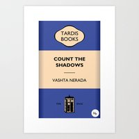 Count The Shadows Art Print