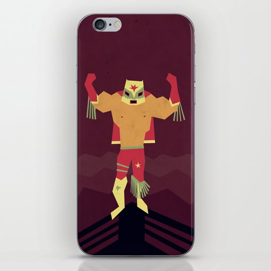 El Destructor iPhone & iPod Skin