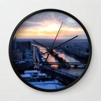 Pick a bridge Wall Clock