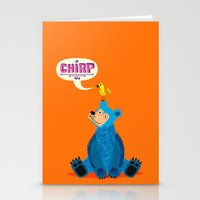 CHIRP! Stationery Cards
