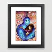 I'll Miss You, Genie Framed Art Print