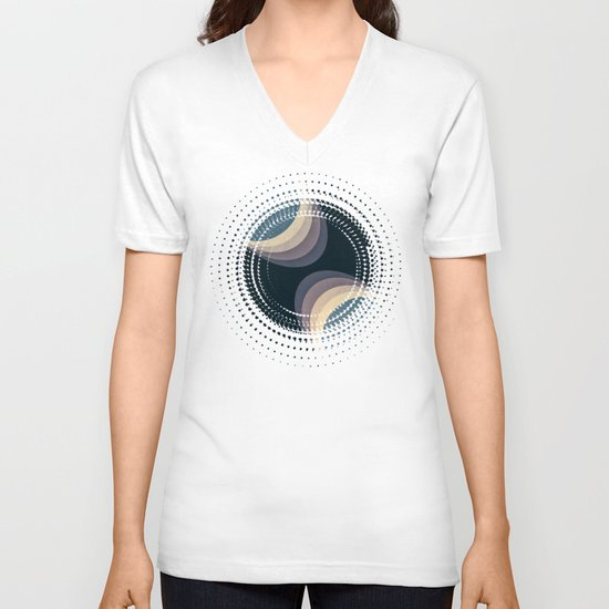 Textures/Abstract 62 V-neck T-shirt