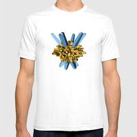 Lazereth Mens Fitted Tee White SMALL