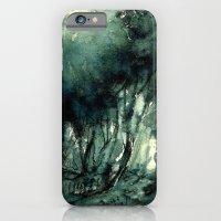 iPhone & iPod Case featuring mürekkeple orman by Atalay Mansuroğlu