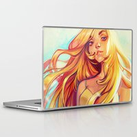 summer Laptop & iPad Skins featuring Summer by loish