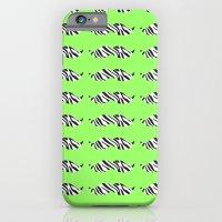 zebrastache iPhone 6 Slim Case