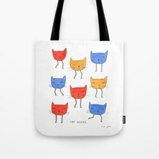 cat heads Tote Bag