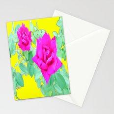 Magenta Rose  Stationery Cards