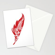 eagle feathers Stationery Cards