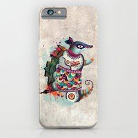 iPhone Cases featuring The Armadillo by Nadia Sarmientos (Kala)