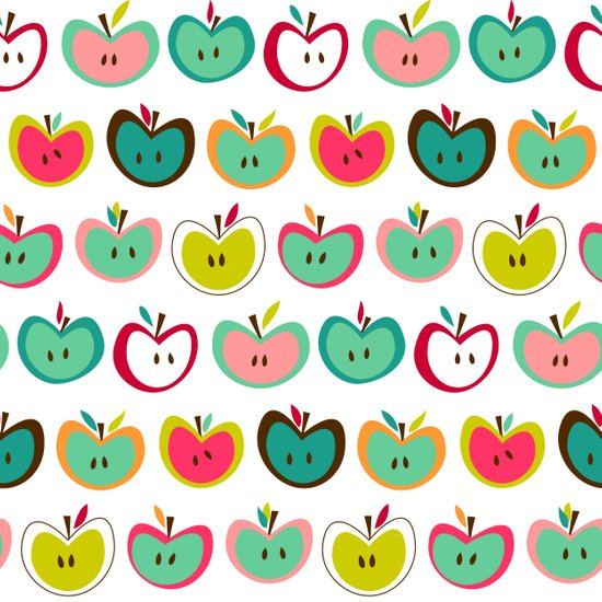 Cute Apples  Art Print