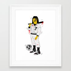 Baseball Furies Framed Art Print