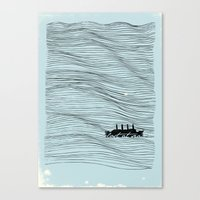 Lost at Sea Canvas Print