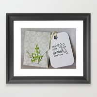 May All Your Dreams Come… Framed Art Print