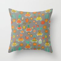 Pattern Project #4 / Esio Trot Throw Pillow