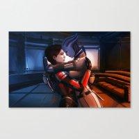Mass Effect - Safe In Yo… Canvas Print
