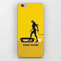 about same needs iPhone & iPod Skin