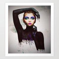The Girl 3 Art Print