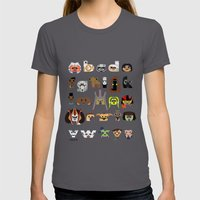 ABC3PO Episode II Womens Fitted Tee Asphalt SMALL