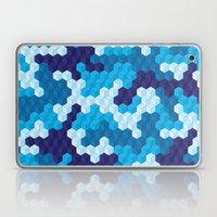 CUBOUFLAGE BLUE Laptop & iPad Skin