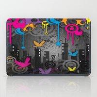 Vector City Grunge. iPad Case