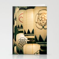 Japanese Festival Latern… Stationery Cards