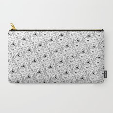 Cryptid Pattern: Ink Lines Carry-All Pouch