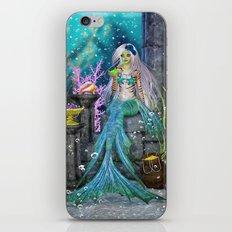 Mermaid Treasure iPhone & iPod Skin