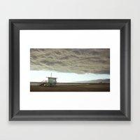 Cloudy Venice Framed Art Print