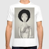 Tattoo Mens Fitted Tee White SMALL