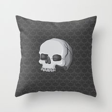 Regal Macabre Throw Pillow