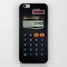 Smartphone Calculator iPhone & iPod Skin