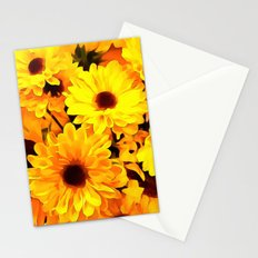DaisiesYellow3 Stationery Cards