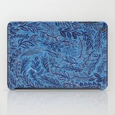 Blue Branches iPad Case