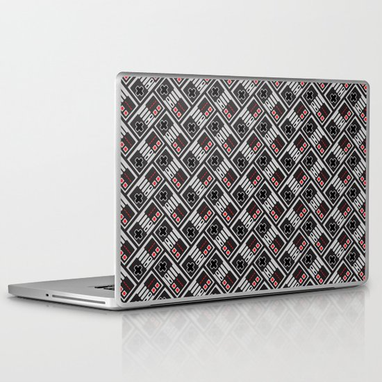NES Herringbone Laptop & iPad Skin
