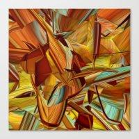 Shades Of Orange Canvas Print