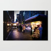 NYC Newsstand  Canvas Print
